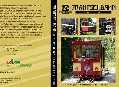 Drahtseilbahn Augustusburg - gestaltete DVD