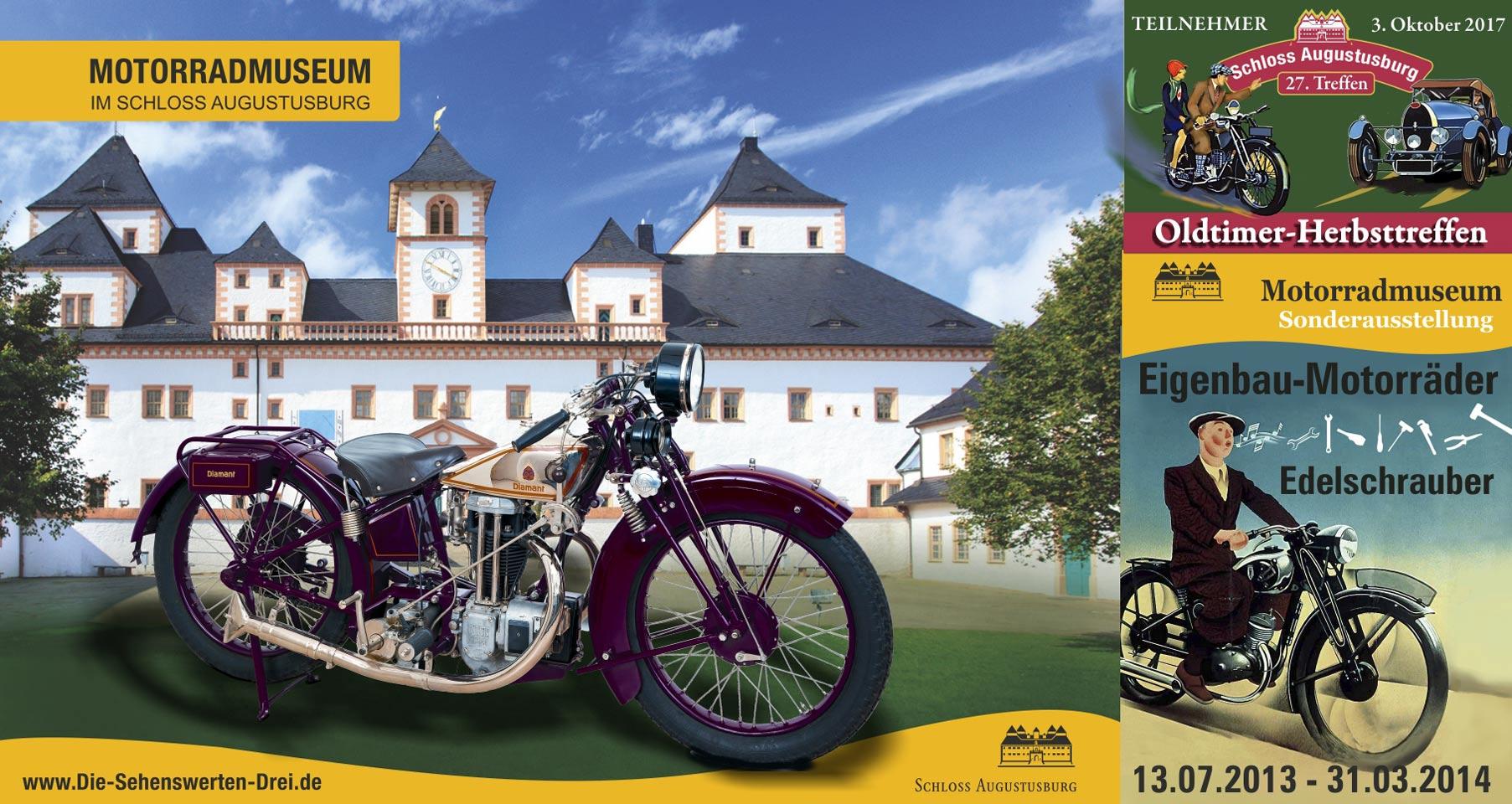 Drucksache Motorradausstellung Augustusburg
