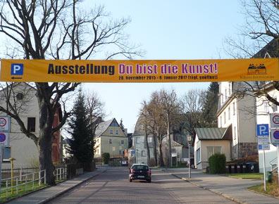 Banner für Du bist die Kunst Augustusburg